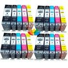 20 Ink Cartridge for PGI-550 CLI-551 for MG5550 IP7250 MG5450 MG6350 MG6650 MG7150 MG7550 MX925