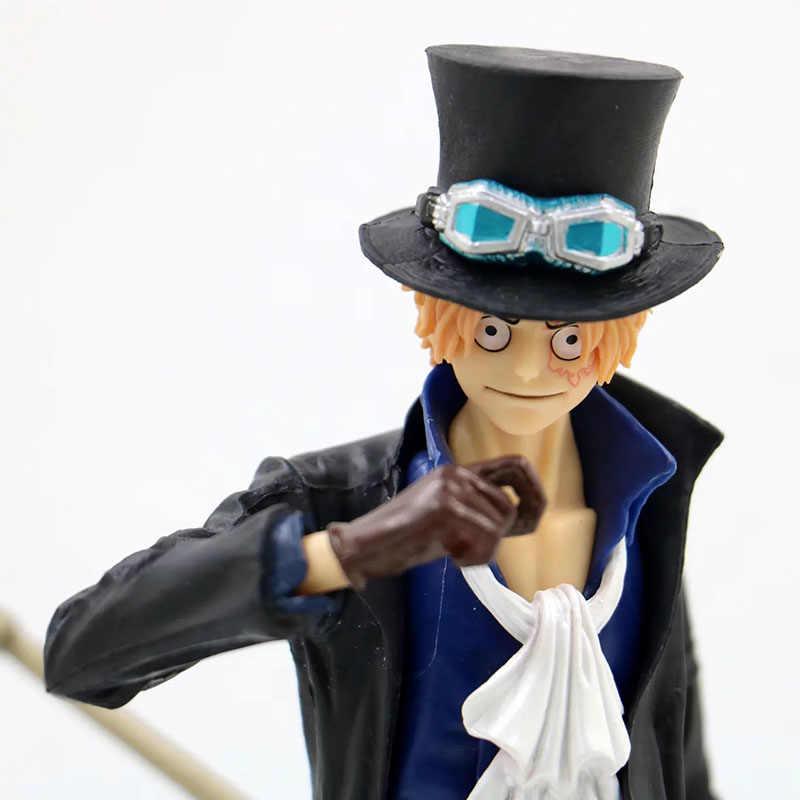 Anime 1/8 Skala Dicat Gambar Satu Potongan Perang Vol.5 Tentara Revolusioner Sabo Aksi PVC Sosok Mainan Brinquedos 22 CM
