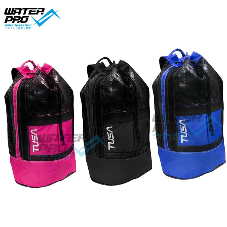 купить TUSA BA0102 MESH BACKPACK SCUBA DIVING SNORKELING BAG DIVE GEAR 100% Nylon недорого