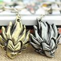 Japan Anime Dragon Ball Z Son Goku Gokou Head pendant keychain Keyring Key Chain