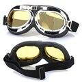 Venda quente Steampunk Góticas Óculos Voando Scooter Capacete Óculos Legais Óculos Steampunk Cosplay Óculos de Solda