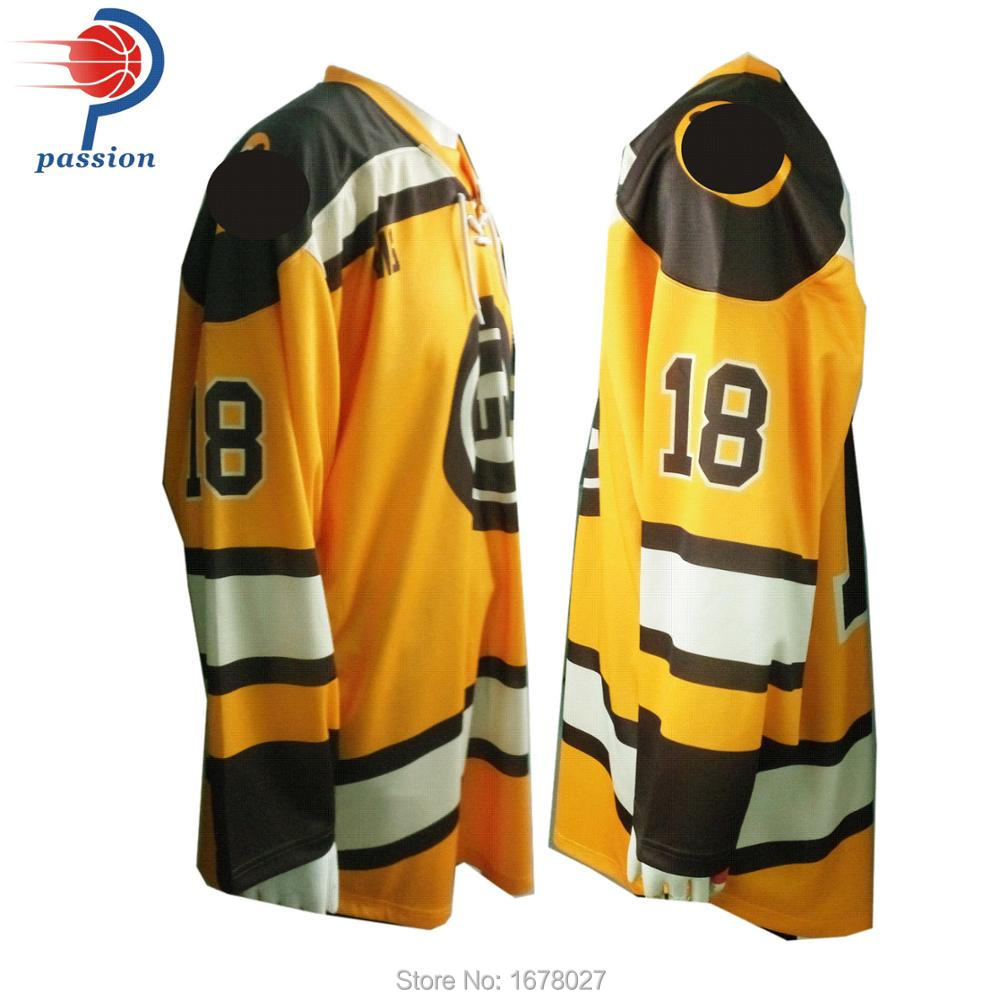New design custom made lace up hockey jersey practice ice hockey jerseys-in Hockey  Jerseys from Sports   Entertainment on Aliexpress.com  d1b36cd3734