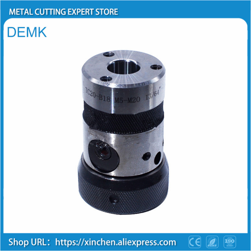 Tap chuck, M2-M20 B16 / B18,Taper strong torque type,not easily broken tap,metric,imperial,American system,versatility.
