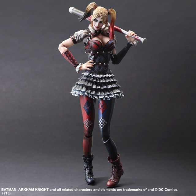 PLAY ARTS SQUARE ENIX PA Arkham Knight Harley Quinn Haley Quinn 28cm Collectible Action Figure