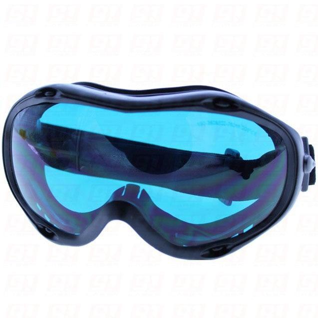 ФОТО 190-380nm & 600-760nm laser safety eyewear Visible Light trans. 50% O.D.5 +