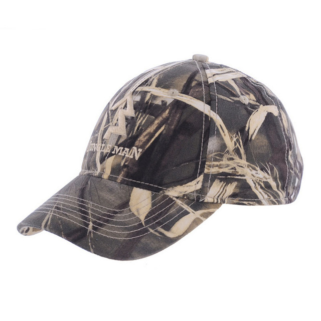 e3ac9508b9ad0 Mens Army Military Camo Cap Baseball Casquette Camouflage Hats For Men  Hunting Camouflage Cap Women Blank Desert Camo Hat
