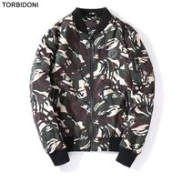 2017 Brand Autumn Bomber Jacket Men Fashion Printed High Quality Army Green Military Motorcycle Flight Jacket