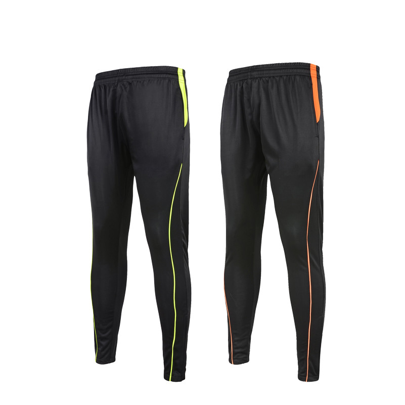 Mens Sport Trousers Training Football Pants 2016 2017 Polyester Skinny Soccer Joggers Running Bottom pantaloni portiere calcio