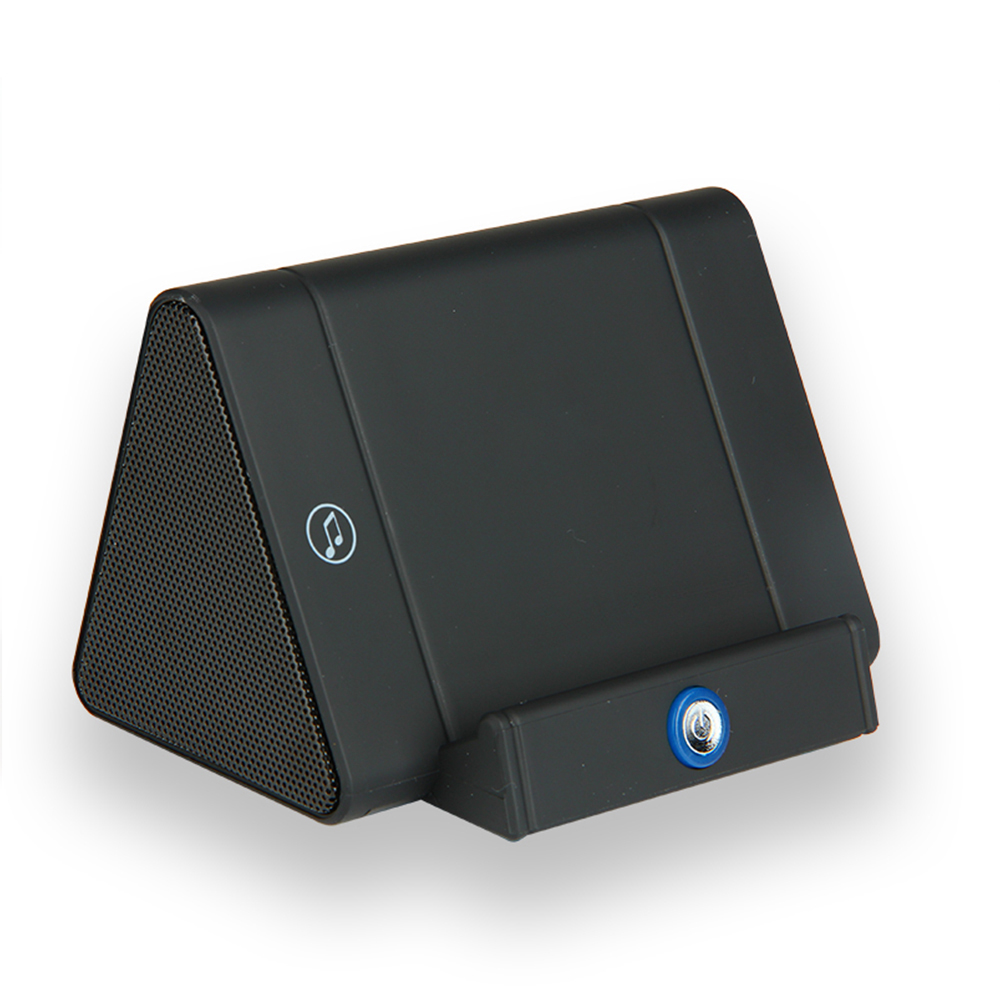 Wireless Induction Speaker Portable Sensing Speakers W/ Phone Stand Mini Sound Box Audio Sensors Super Bass Loudspeaker