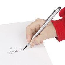 Оригинальная шариковая ручка Wathet, металлическая сенсорная ручка, стилус для сенсорного экрана, планшет, смартфон, конденсатор, стилус, черные чернила, заправка