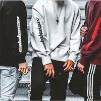 Thick Fleece Season 4 3 Calabasas YZY KANYE WEST hoody Pullover Hoodie oversize Men Women Tour Windbreaker Hip Hop Sweatshirt