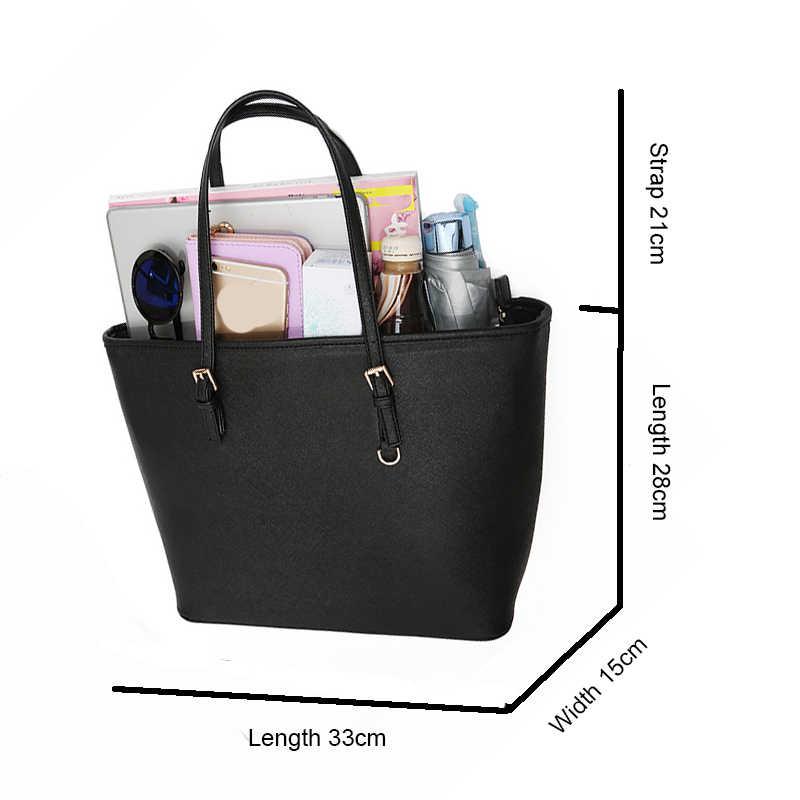 LostSoul kürdan çizgili En saplı çanta tasarımcısı kadın deri çantalar bayanlar ünlü markalar moda tote siyah ve beyaz
