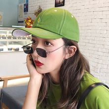 Unisex New Arrival Leisure Fresh Fruit Embroidery Hat Banana Avocado Grape Orange Peach Baseball Cap