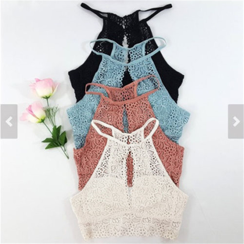 Hot Sale Women's Sleeveless Tanks Fashion 2018 New Women Summer Vest Tops Blouse Casual Tank Pure Color Ladies Hollow Out Tops