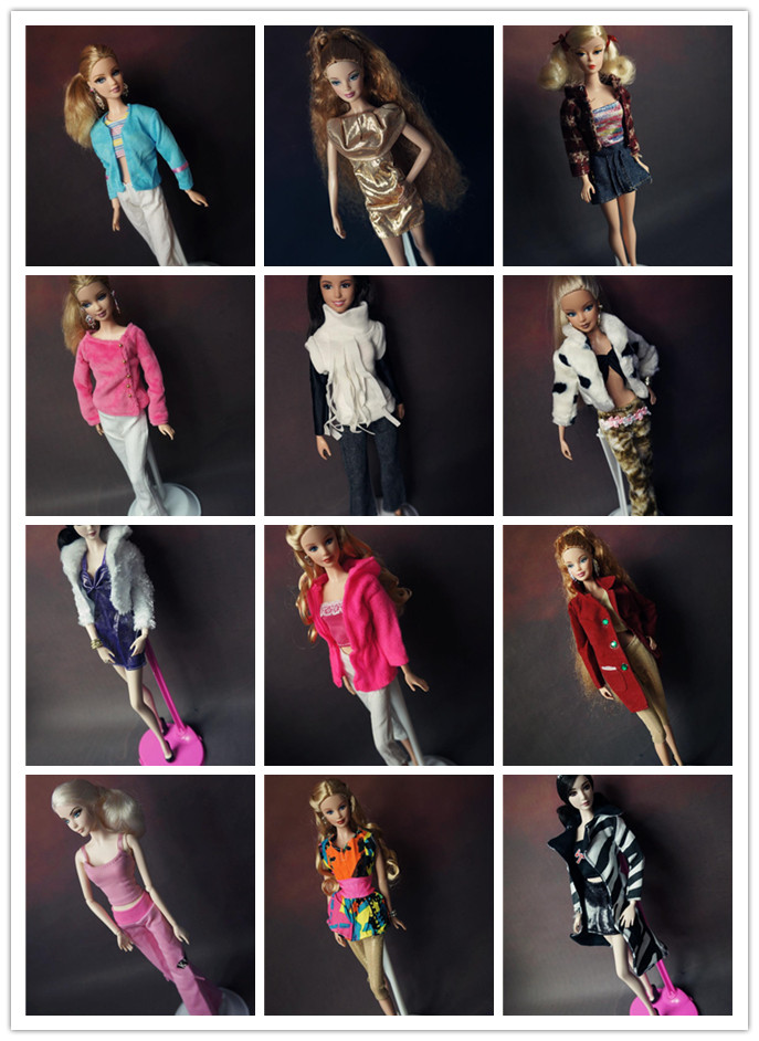 5sets / lot Borong Fesyen Baru Dipakai Set Styip pullip Aksesori Doll - Anak patung dan aksesori - Foto 4
