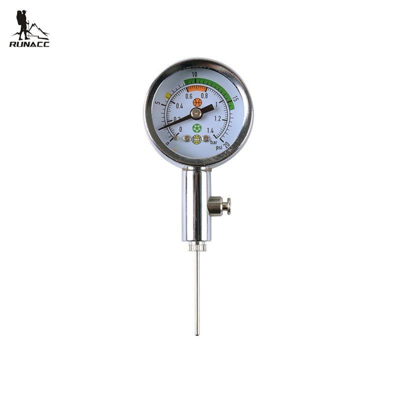 RUNACC Soccer Ball Air Watch For Football Volleyball Handball Barometers Basketball Barometer Professional Metal Gas Pressure