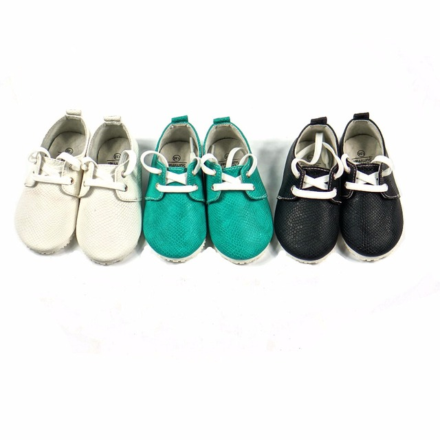 New arrive British snake style Baby oxford shoes Genuine Leather Baby boys shoes lace up Baby moccasins Anti-slip kids shoes