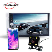 7 inch car radio 2 din stereo car Auto Electronics Bluetooth Mirror Link Autoradio radio cassette player auto tapes W/camera USB