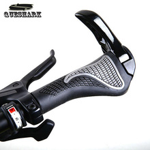 Bicycle Crips Durable Anti slip Rubber Aluminum Alloy Integrated Bike Bicycle Handlebar Mountain Biks Handlebar Parts