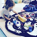 Crianças Tapetes de Jogo Do Bebê Esteira do Jogo Rastejando Cobertor Rodada Chilren Jogar Jogos de Corrida do Tapete Tapete Quarto Infantil 100% Algodão 140 cm