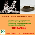 1000g Tongkat Ali 200:1 Root Extract Powder Long Time Sex For Men