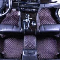 Custom car floor mats for BMW 730 E38 F10 F11 F15 F30 F34 E60 E70 E90 X1 X4 X5 X6 Z4 car floor mat car accessories foot carpets