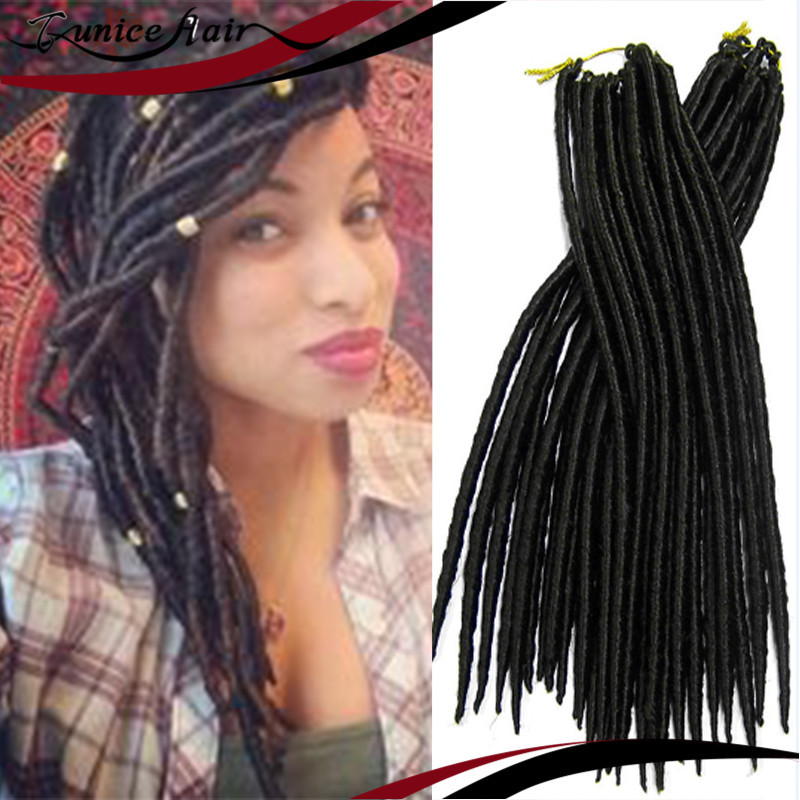 FAUX LOCS Individual Crochet Braiding Best Hair Extensions Synthetic Twisted Single Easy Long Braids Free Shipping On Aliexpress