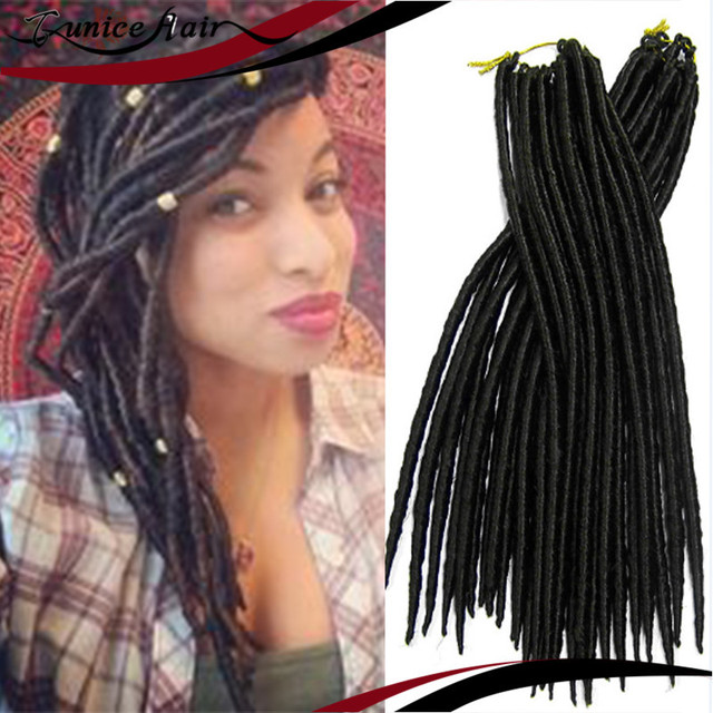 Faux Locs Individual Crochet Braiding Best Hair Extensions Synthetic