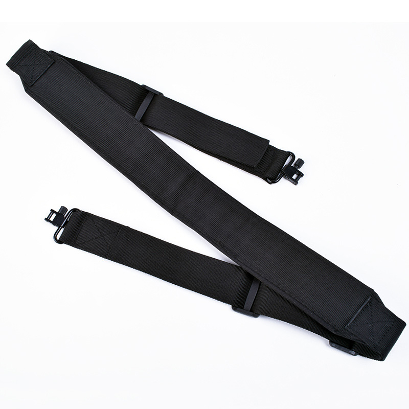 Image 3 - 2pcs High Quality Hunting Gun Accessories Rifle Gun Sling Baldric Shooting Shotgun Belt Shoulder Strap w/ Swivels Adjustable-in Hunting Gun Accessories from Sports & Entertainment