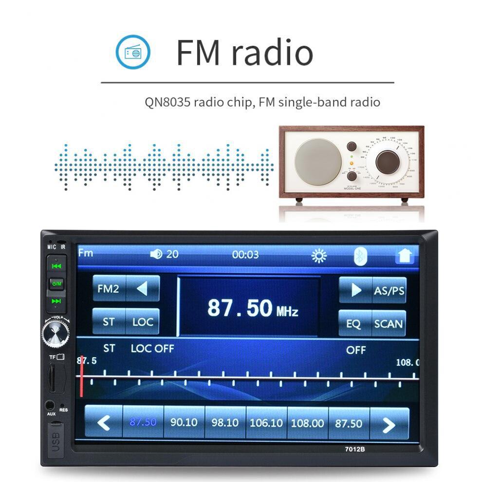 MP5 Mp4 lecteur Bluetooth Mp3 lecteur Mp3 Bluetooth lecteur de musique pour Coran Coran autoradio FM stéréo Support de musique Smart Phone