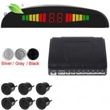 Light Heart Intelligent & Omnibearing Parking Assistance System Contain Visual Digital LED display & 6 Sensors