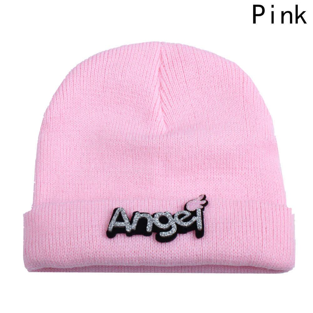 ฤดูหนาวฤดูใบไม้ร่วงถักทารกแรกเกิดเด็กโครเชต์หมวกเด็กสาวหมวกเด็กหมวกทารกเด็กวัยหัดเดินเสื้อกันหนาวถัก
