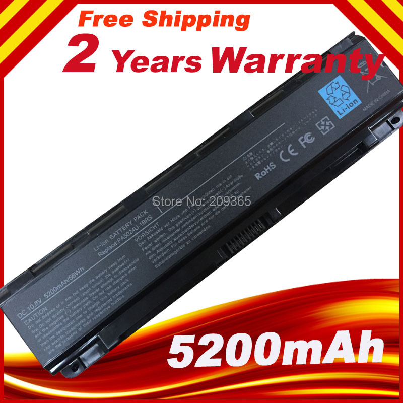 Laptop Battery For Toshiba Satellite C800 C840 C850 C870  L800 L830 L840 L850 L870 M800 M840 P800 P840 P850 P870 C855