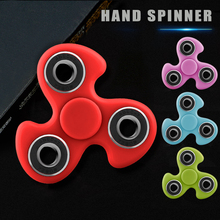New Luminous Fidget Puzzle Spinner Glowing Light Fidget EDC Hand Finger Spinner Relieve Stress Gyro For
