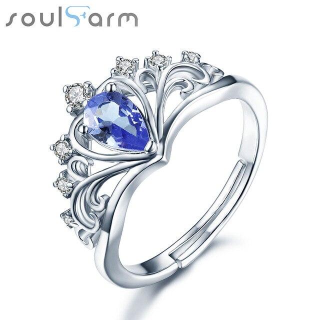 Ladies Ring -Halo Design 2 Piece Teardrop/Pear Cut 925 Sterling Silver Wedding Engagement Bridal Ring Set rul4Rq