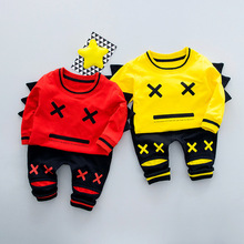 2018 high quality multicolor baby Girls and boys Clothing cotton Baby's Sets wL1-wL10
