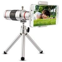 Gratis Verzending Universele Clip Op 18X Telelens Mobiele Telefoon Optische Zoom Telescoop Camera Voor iPhone Sumgung HTC Asus JT11