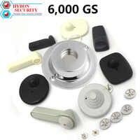 HYBON Sicherheit Magnetische Detacheure 6000gs Tag Remover EAS Kleidung Magnet Alarm Sicherheit Tag Remover gancho alarma ropa