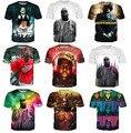 Hip hop camiseta mujeres / hombres Shakur Tupac 2 Pac / Biggie Smalls 3d de impresión Casual camiseta tee tops plus tamaño S-3XL envío gratis