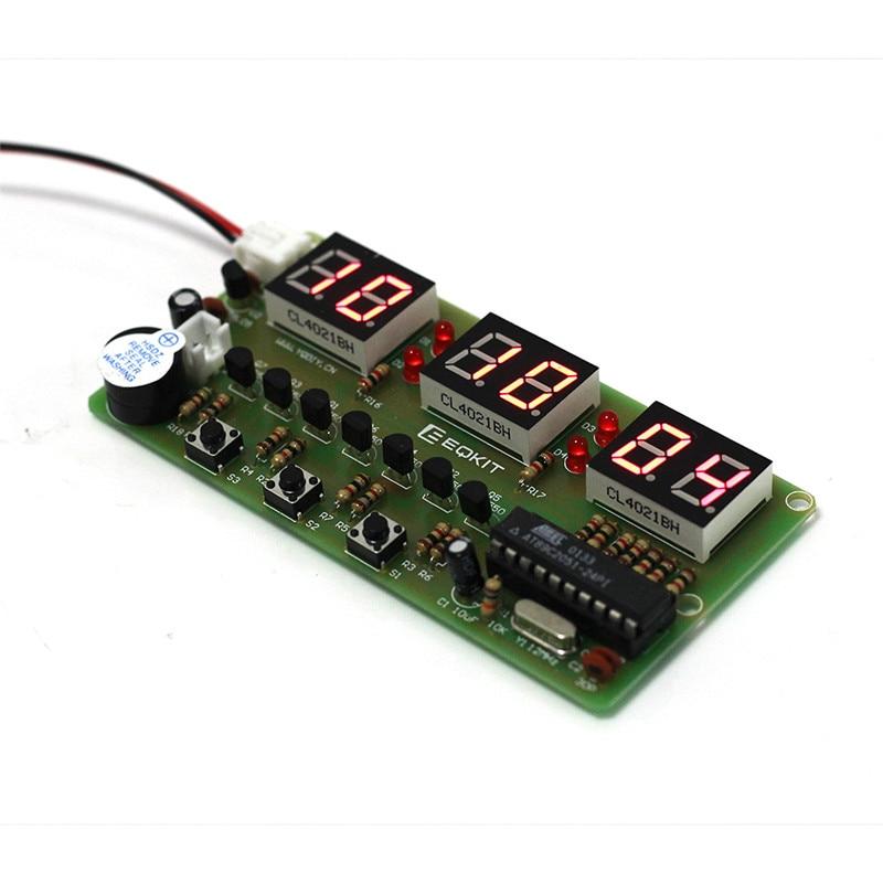 C51 Digital DIY Electronic Clock Kit