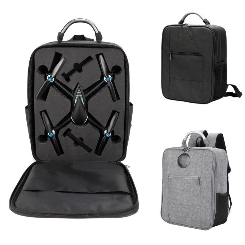Novo anti-choque impermeável oxford pano mochila saco de transporte de armazenamento para mjx bugs 5w b5w zangão quadcopter acessórios