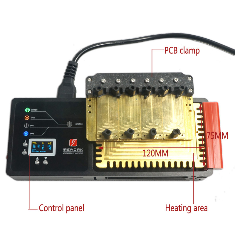 JOVY system Authorization IREWORK SMD solder station for mobile special reapir