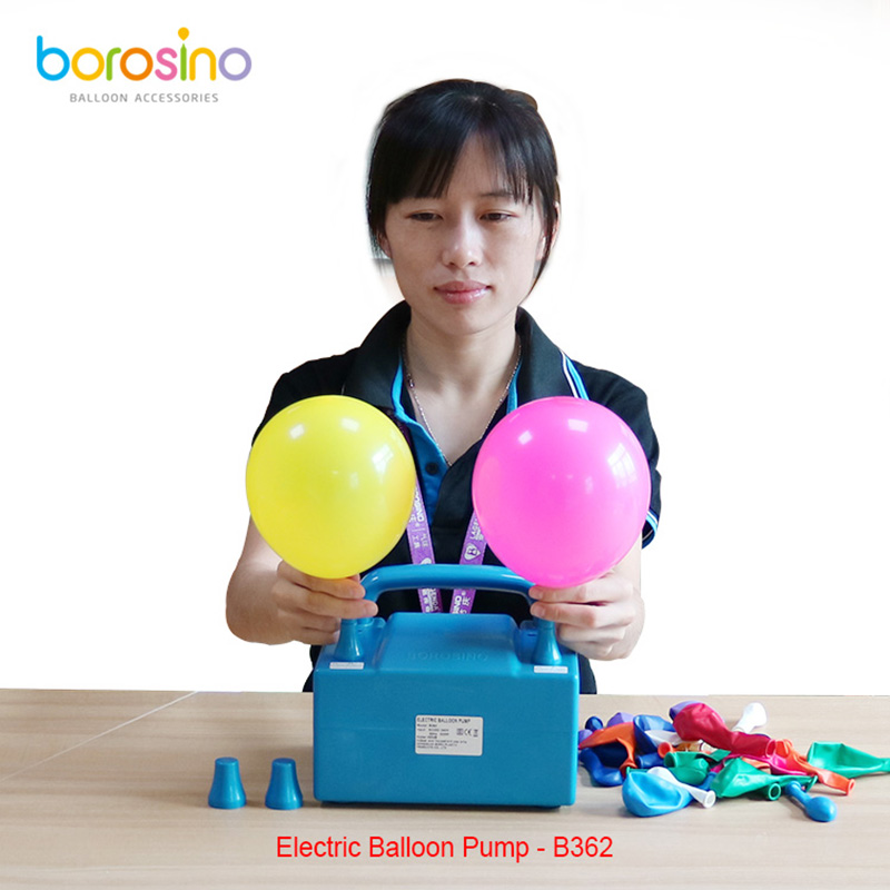 B362 Gratis forsendelse To dyser High Power Air Blower Electric Balloon Inflator Pump For Party