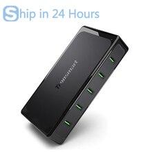 For Qualcomm Certified Tronsmart Titan UC5F 5 Ports Quick Charge 2 0 USB Smart Desktop Charger