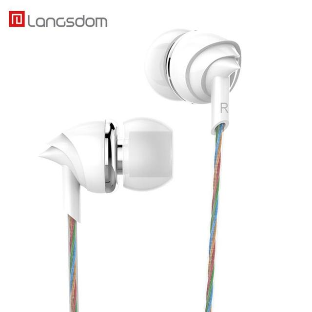 US $1 9 32% OFF|Universal 3 5mm In Ear Stereo Earbuds Earphone With Mic For  Cell Phone For Samsung DropShipping Mar 9-in Headphone/Headset from