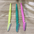 3pcs/Set Eyebrow Shaver Eyebrow Razor Face Eyebrow Hair Safety Trimmer Shaper Cosmetic Tool Women Ladies Girls