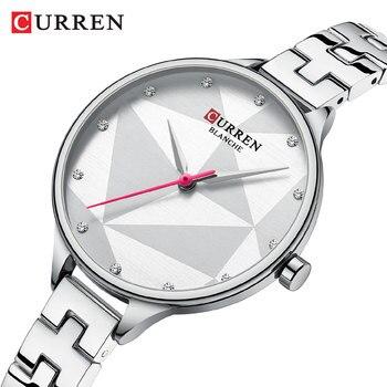Luxury Brand CURREN Women's Watch Fashion Elegant Quartz Wristwatch with Stainless Steel Female Clock Ladies 9047 reloj mujer - discount item  50% OFF Women's Watches