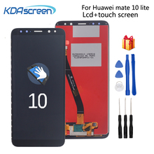 Original For HUAWEI Mate 10 Lite LCD Display Touch Screen with Frame Repair Phone Display For Huawei Nova 2i RNE-L21 Replacement смартфон huawei nova 2i prestige gold rne l21