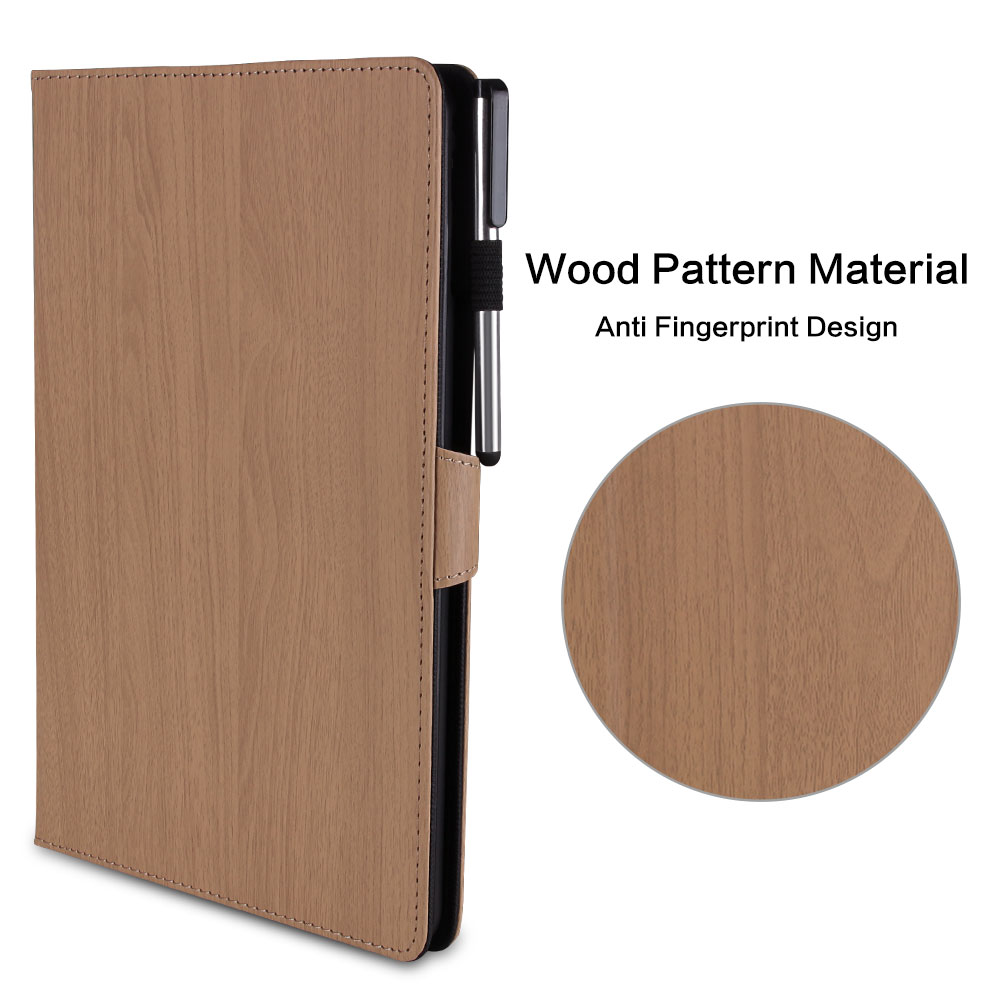 10.2 iPad Cover 2019 10.2 PC Wood Smart Generation Case Pattern 7th For Flip iPad for