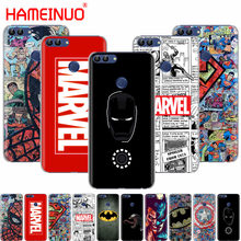 HAMEINUO The Avengers batman marvel coque cell phone Cover Case for huawei Honor Y5 7C Y625 Y635 Y6 Y7 Y9 2017 2018 Prime(China)